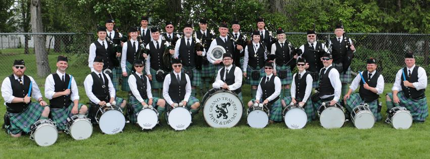 Grand Traverse Pipes & Drums Alma 2015 Winners